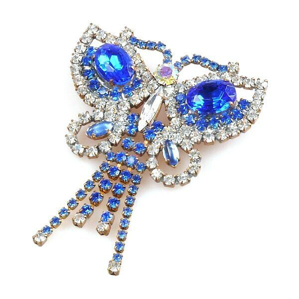 Butterfly Dangling BLUE
