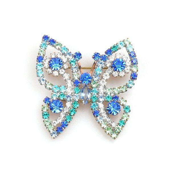 Satyrid Butterfly BLUE