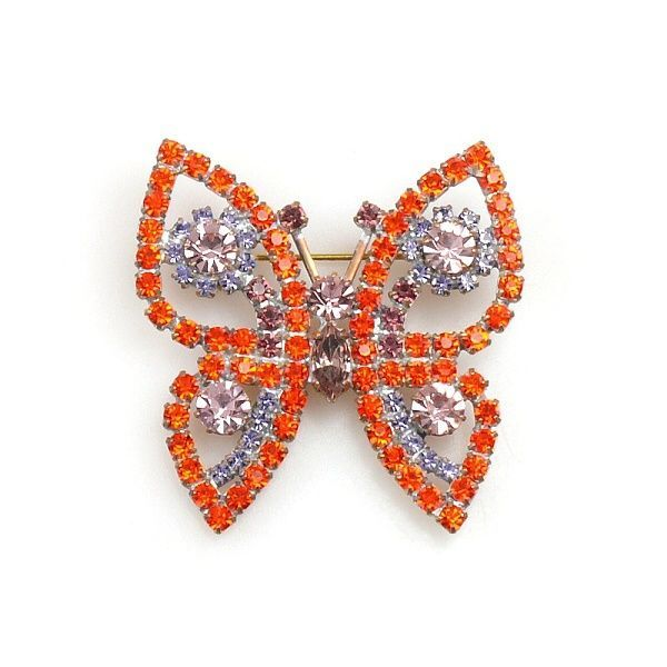 Satyrid Butterfly ORANGE