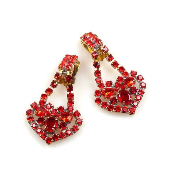 Heart Earclip Double