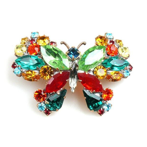 Butterfly Hairclasp GREEN