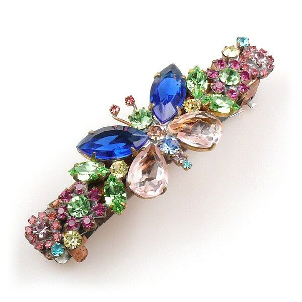 Butterfly Hairclasp BLUE