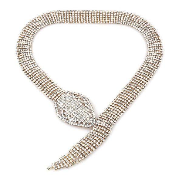 Snake Necklace CLEAR