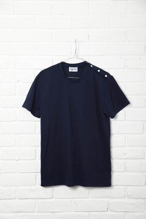 Side Henley / NAVY