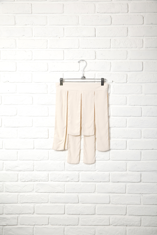 Ticket Skirt / WHITE