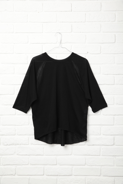 Raglan T-Shirt / BLACK