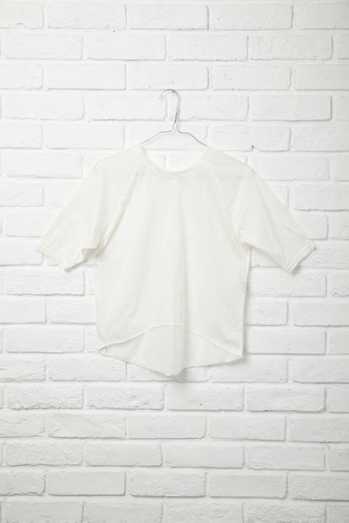 Raglan T-Shirt / WHITE